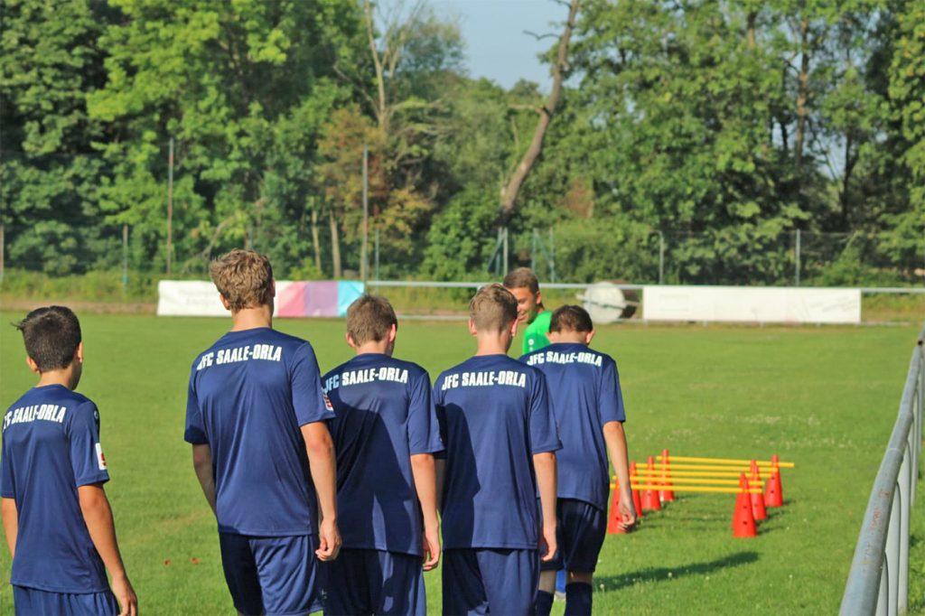Fußball Verein JFC SAALE ORLA